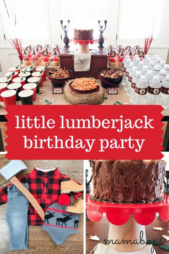 Little Lumberjack Birthday Party