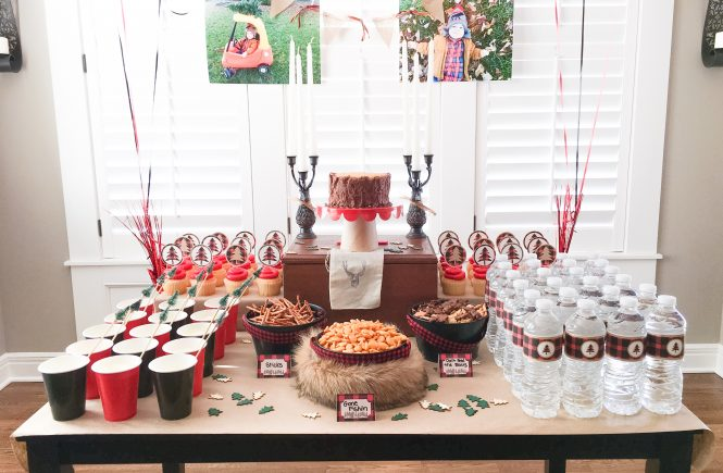 Little Lumberjack Birthday Party