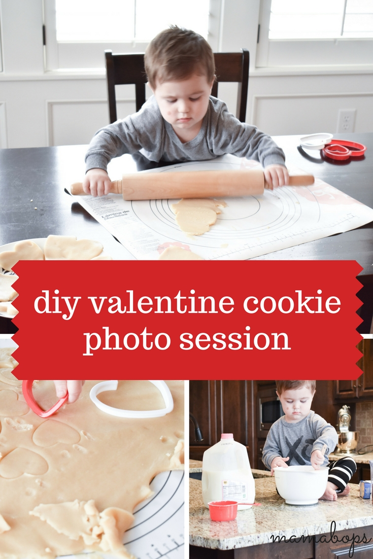 Valentine's Day Cookie Photo Session