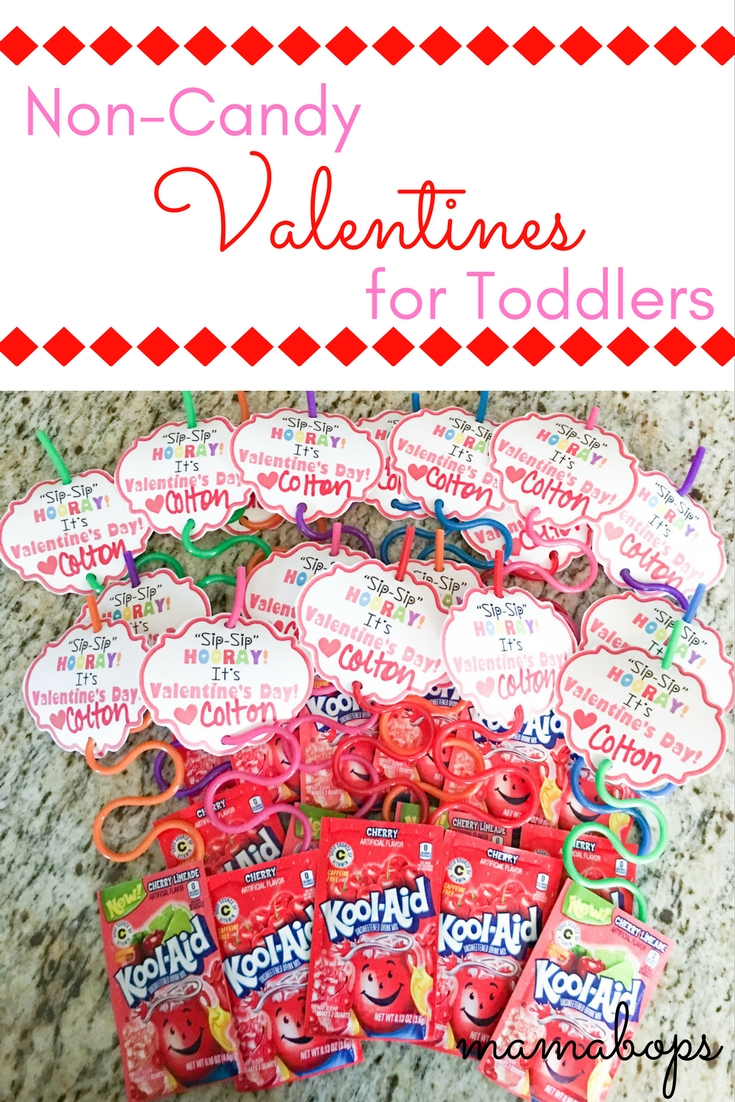 Non-Candy Valentines for Toddlers