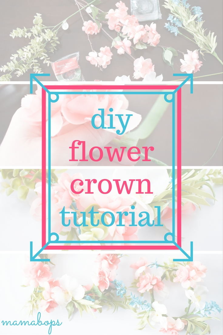 How to make a flower crown with fake flowers easy diy tutorial how to make a flower crown with fake flowers izmirmasajfo Images
