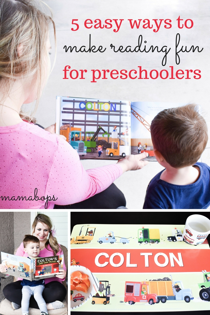 Making Reading Fun for Preschoolers