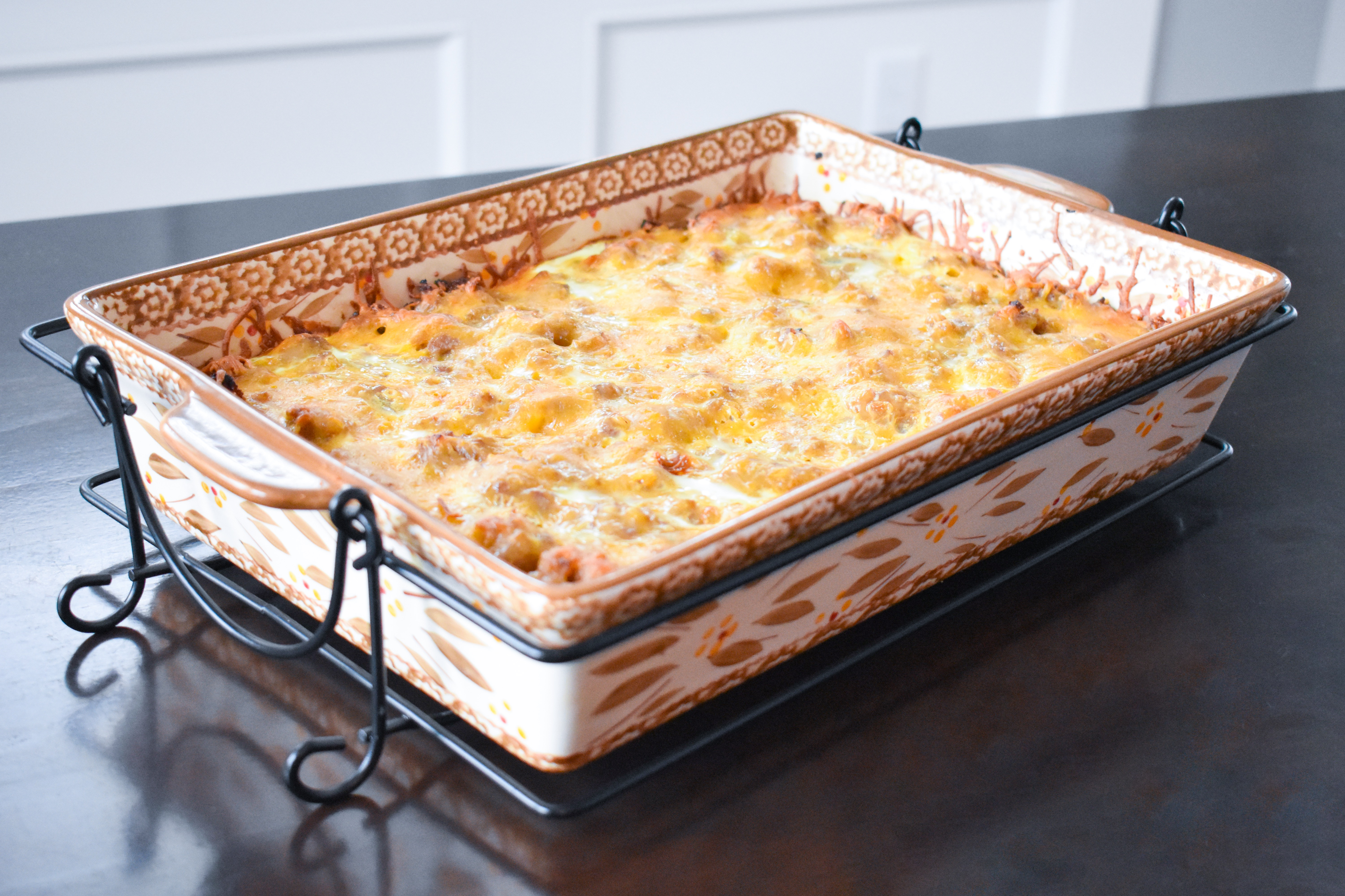 Sausage, Egg, and Hashbrown Breakfast Casserole Recipe