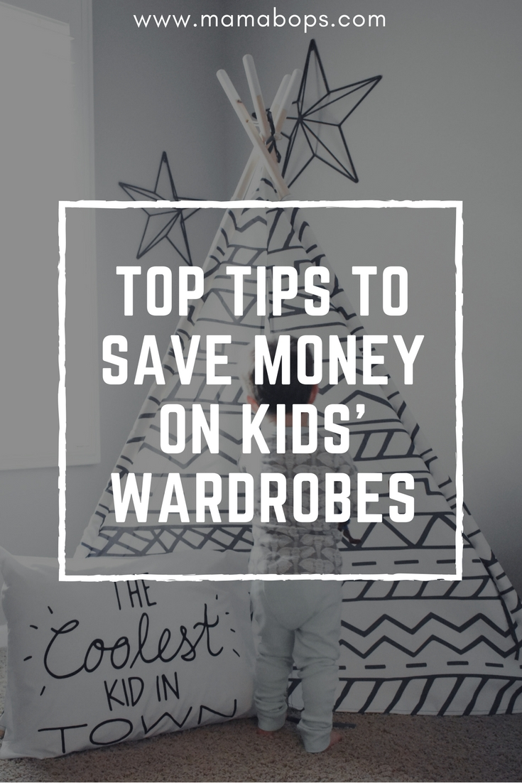 Save Money on Kids Wardrobes