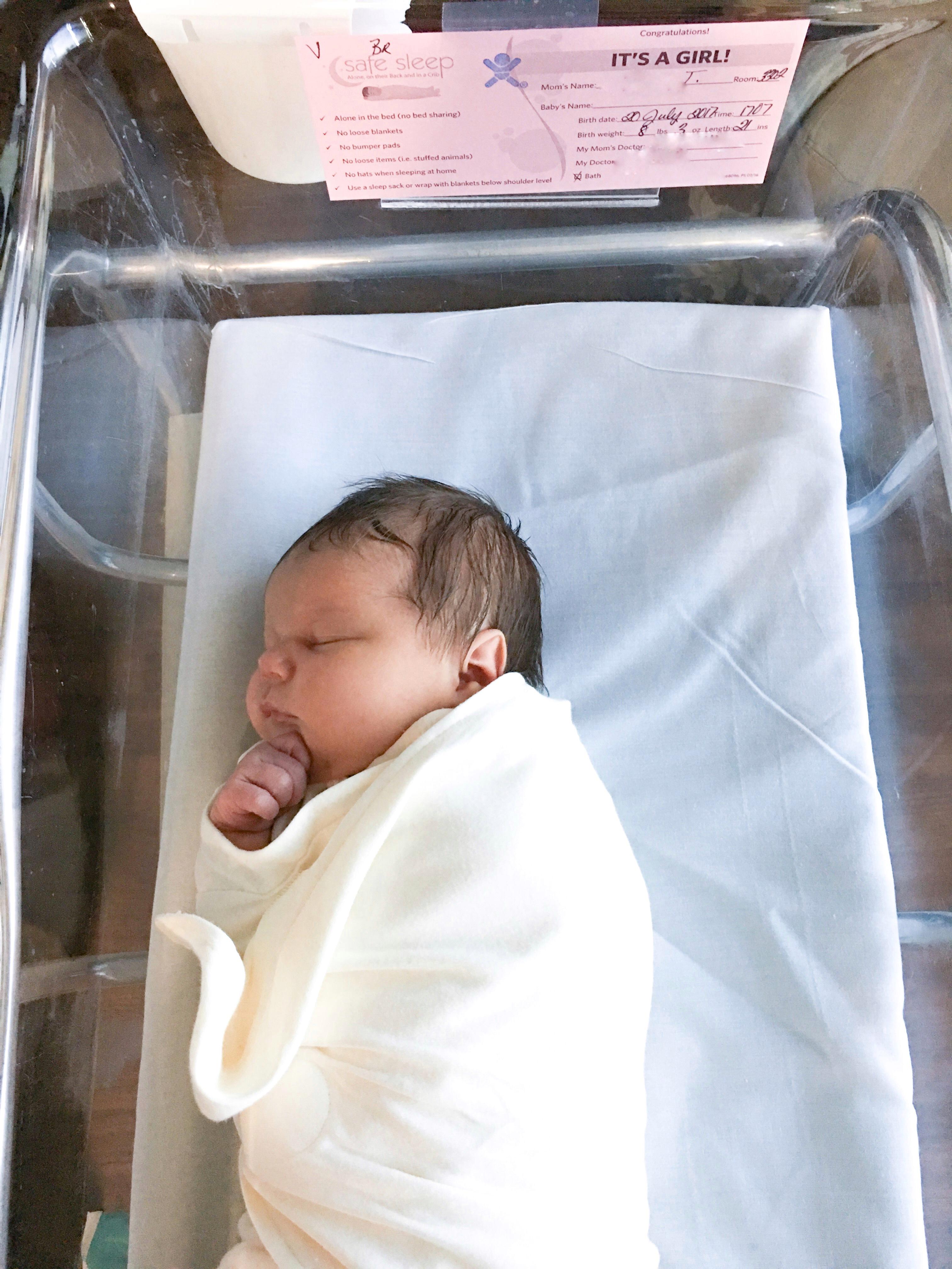 VBAC Success Story Baby Girl's Birth Story