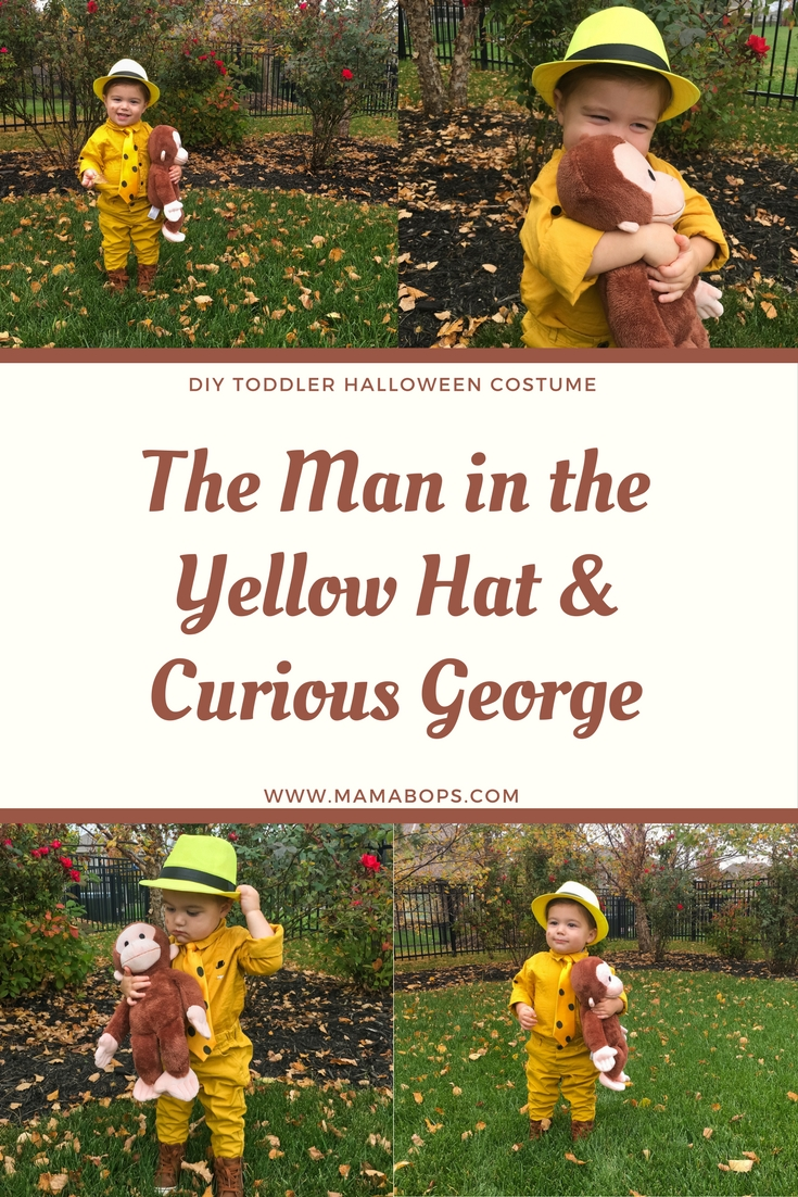 The Man in the Yellow Hat Costume Toddler Curious George