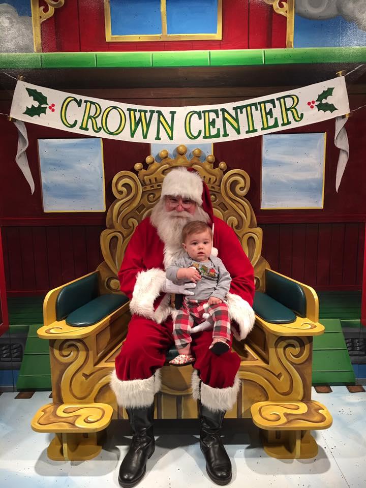 Crown Center Santa 2015