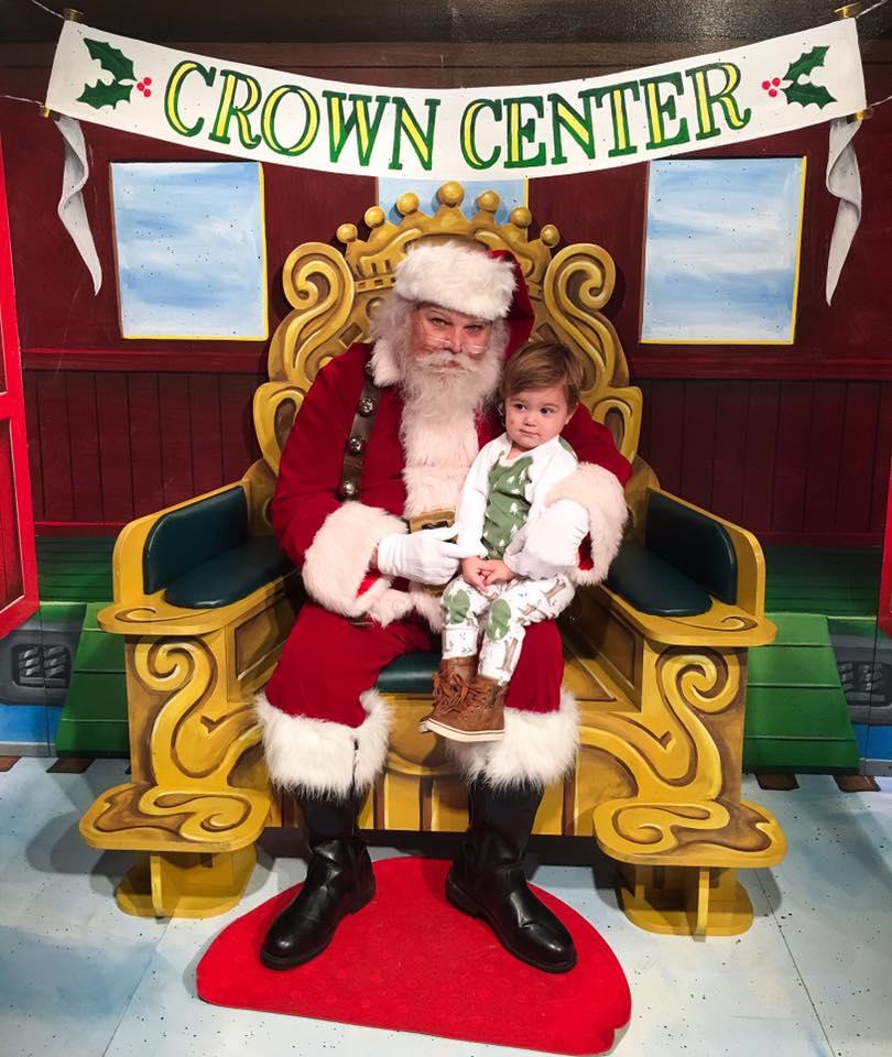 Crown Center Santa 2016