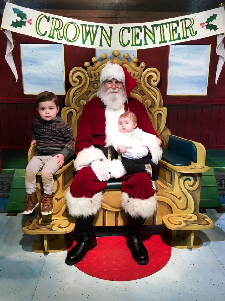Crown Center Santa 2017