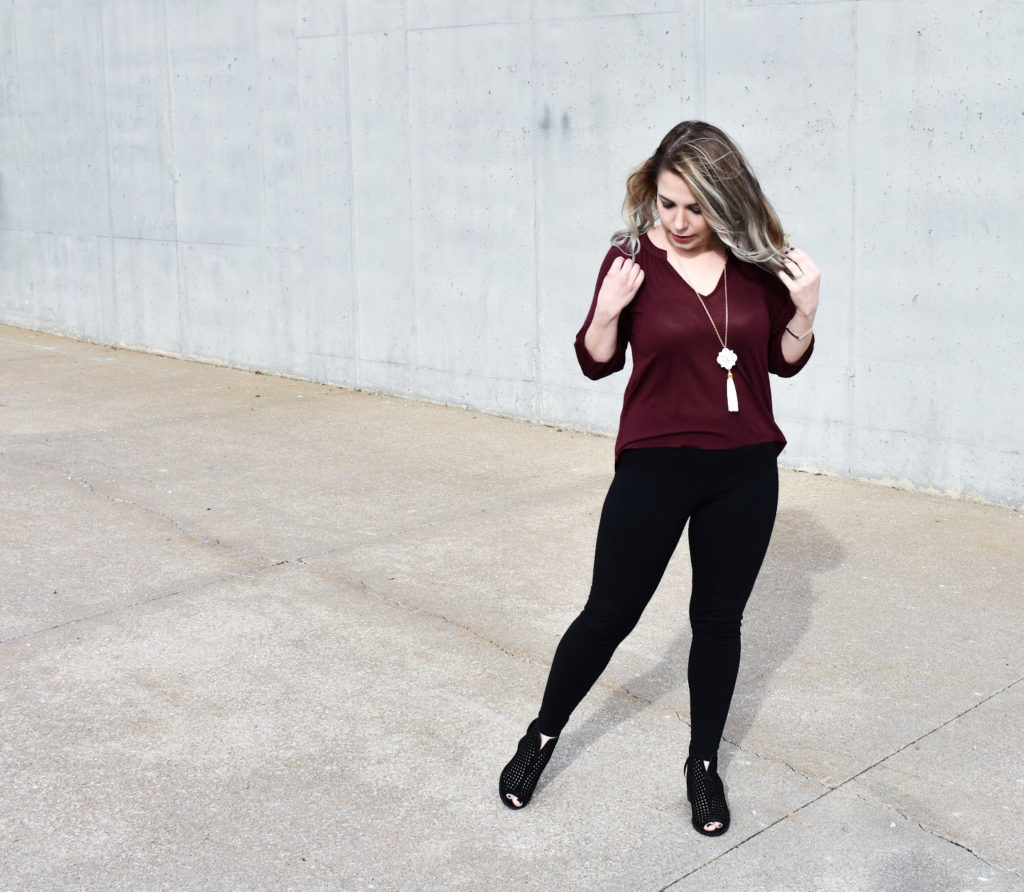 Dress Up Leggings with Ankle Boots \u2022 COVET by tricia