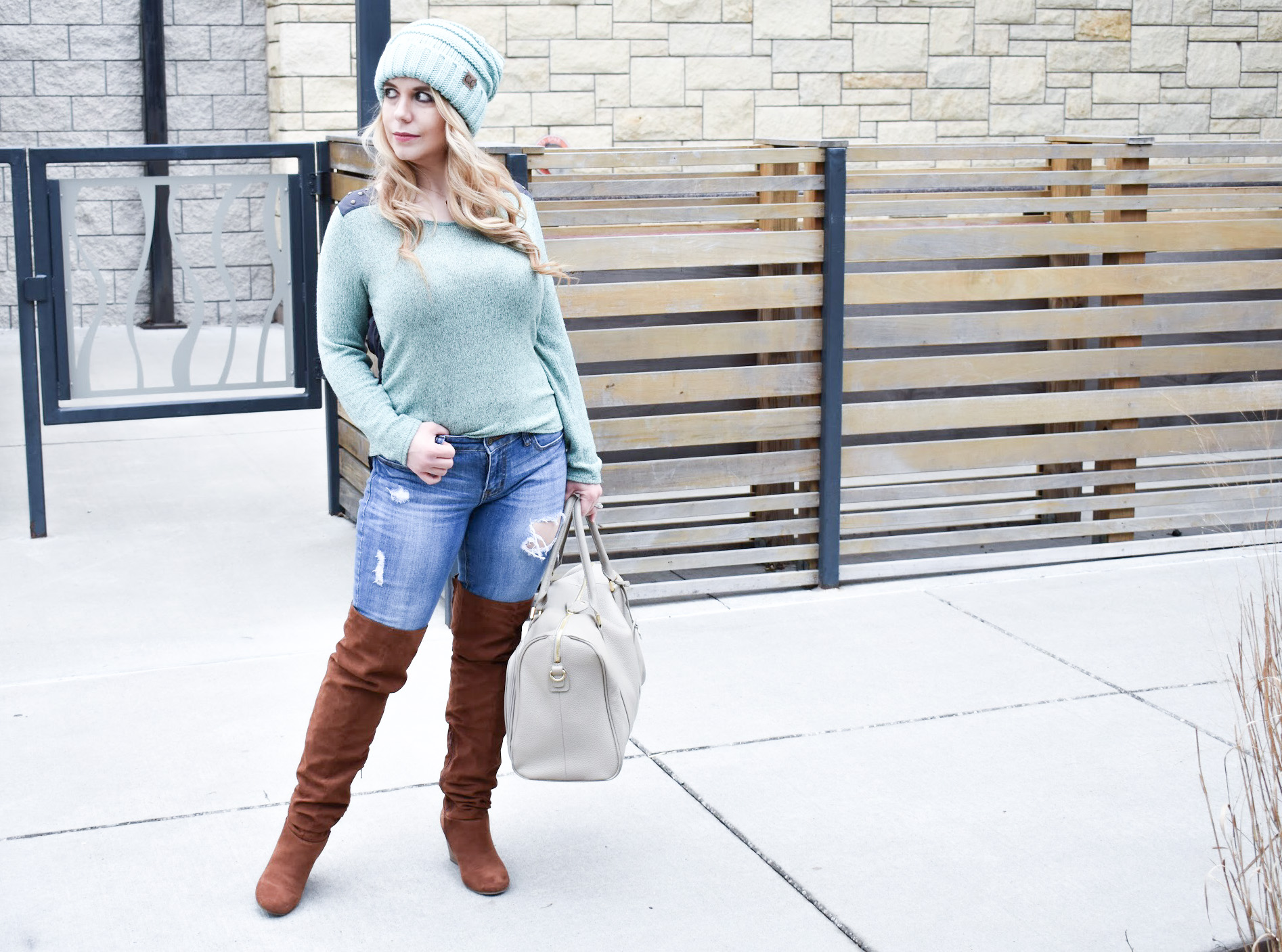 Here are the best tips on how to style a CC beanie for girls! Slouchy 2a47de081d6