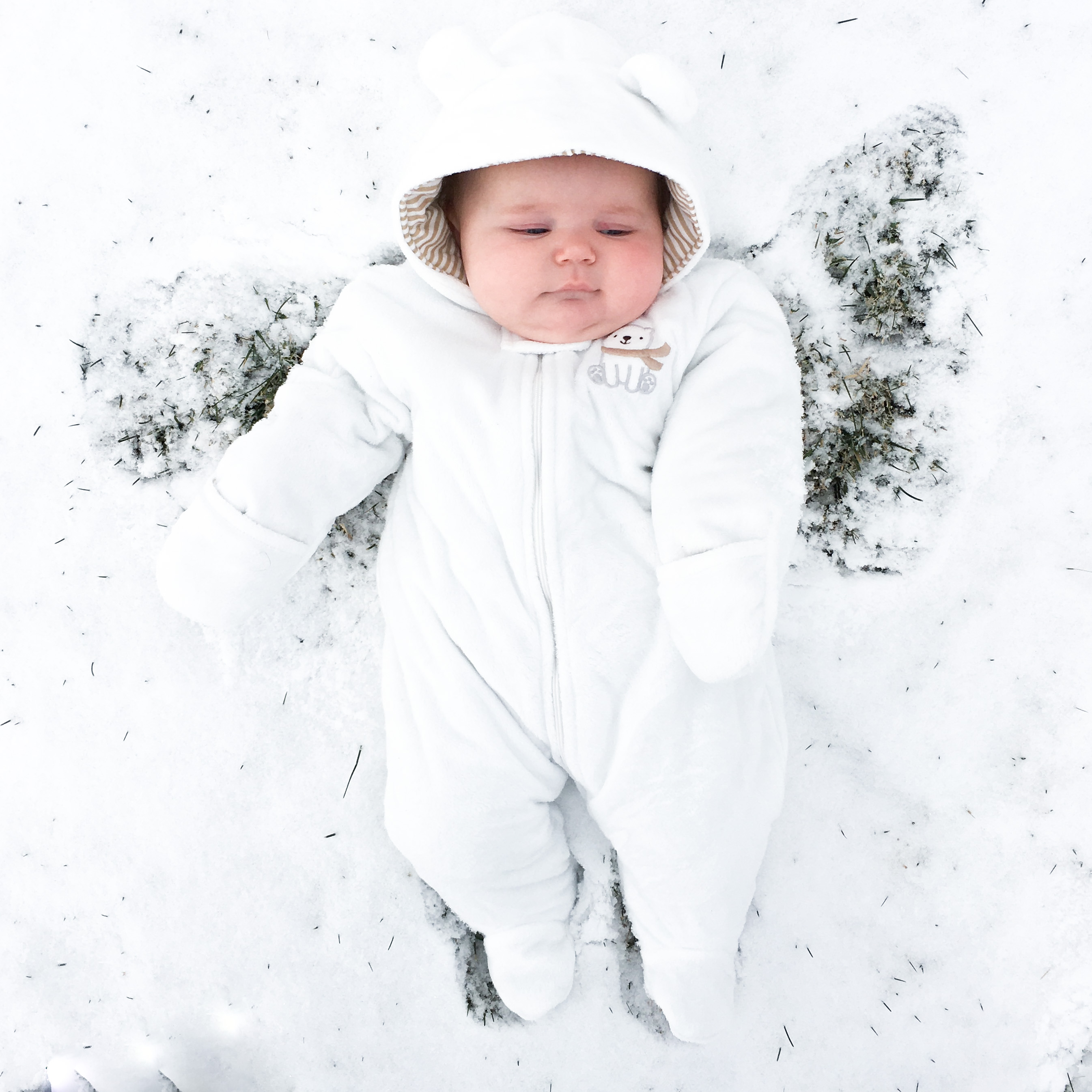 Snow Angel Baby Girl
