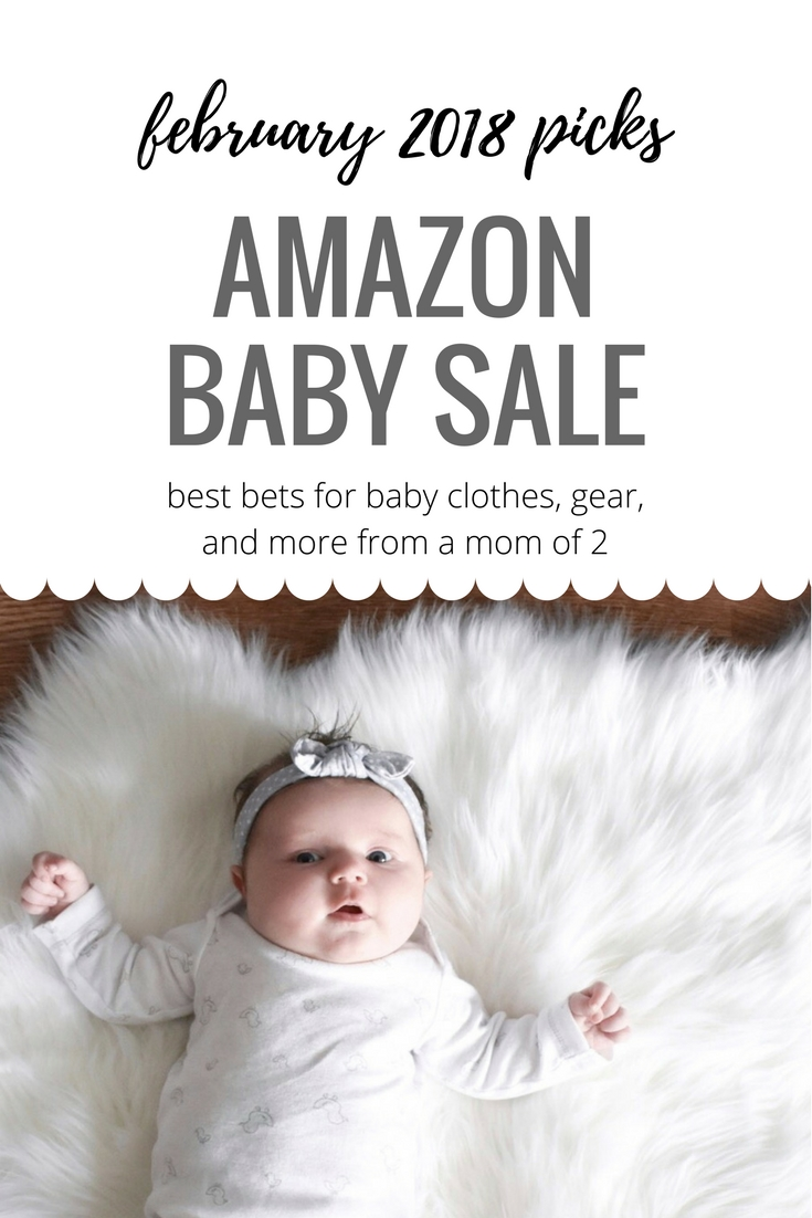 Shopping the February 2018 Amazon Baby Sale? Here are the best deals in Amazon February 2018 Baby Sale as selected by a mom of 2! Your best bets for baby clothes, accessories, gear, diapering, and more from a mom who's been there.
