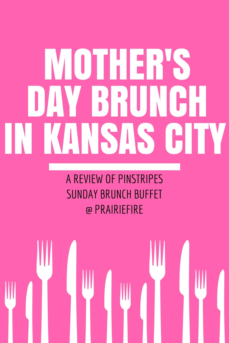 Mother's Day Brunch Kansas City - A review of Pinstripes Sunday Brunch, one of the best Mother's Day brunch spots in the Kansas City area! Pinstripes in Overland Park, KS has brunch, bowling, and bocce all under one roof! A surefire way to make Mother's Day special for the Kansas City mom in your life.