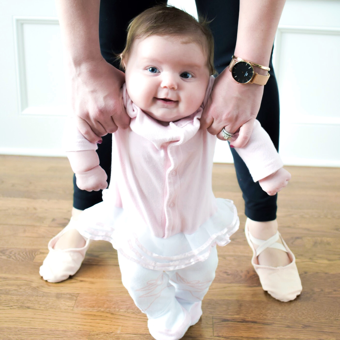 Best Things About Having a Daughter: Whether you just found out you're expecting a daughter or are a seasoned girl mom, you've probably thought about the best things about having a daughter. Blogger COVET by tricia shares her favorite things about having a baby girl. There are so many fun activities to do with a baby girl!