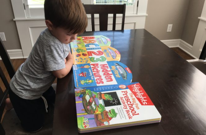 Highlights Preschool Materials Review