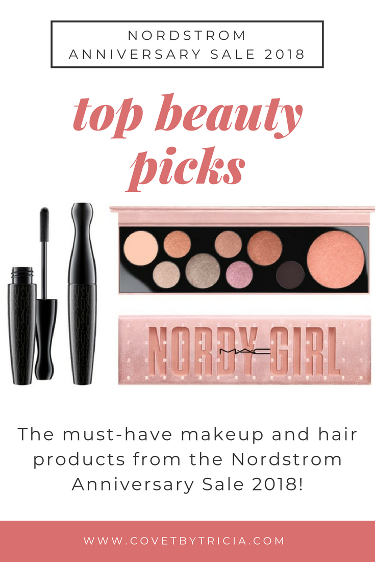 Nordstrom Anniversary Sale 2018 Beauty Picks - NSALE 2018 Makeup and Hair // Looking for the best makeup on the 2018 Nordstrom Anniversary Sale? Top blogger picks for NSALE makeup and hair are right here, from MAC to Drybar and everything in between! The most popular products are selling out fast, so grab yours now! #NSALE #Nordstrom #NordstromAnniversarySale #NSALE2018 #Beauty #Makeup #Hair #BeautyBlogger