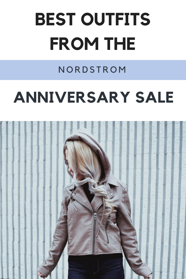 Nordstrom Anniversary Sale 2018 Favorite Outfits NSALE Style - Fashion bloggers favorite outfits from NSALE 2018! Moto jackets, ribbed sweaters, and premium denim top the list of Nordstrom Anniversary Sale 2018 must-haves. Here's what's still in stock for Nordstrom Anniversary Sale 2018 and what to get before it's gone! Fashion blogger NSALE outfits. #NSALE #Nordstrom #NordstromAnniversarySale #Fashion #Style