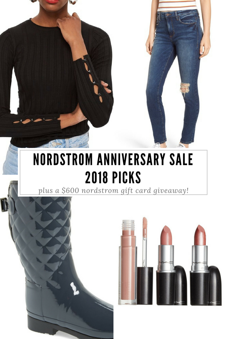 Nordstrom Anniversary Sale 2018 Picks: Fashion bloggers' hand-picked selections from the Nordstrom Anniversary Sale 2018, plus a $600 Nordstrom gift card giveaway! Find out how to shop the Nordstrom Anniversary Sale early, when does the Nordstrom Anniversary Sale start, and answers to all of your Nordstrom Anniversary Sale 2018 questions!