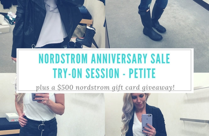 Nordstrom Anniversary Sale 2018 Try On Session Petite Fashion Blogger NSALE - Fashion Blogger COVET by tricia showcases top picks from the 2018 Nordstrom Anniversary Sale. This NSALE try on session shows how top NSALE picks look on petite build. Nordstrom Anniversary Sale Dressing Room Diaries include top picks like Hunter boots, Paige denim, cardigan, moto jackets, and more. #NSALE #Nordstrom #NordstromAnniversarySale #NSALE2018 #NordyGirl #WomensFashion #WomensStyle #FashionBlogger #StyleBlogger #KansasCity