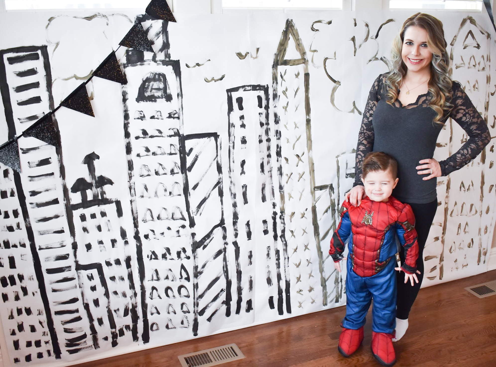 Spiderman Birthday Party - Spider-Man Party Ideas: Looking for Spiderman birthday party ideas? I pulled together some of my favorite Spider-Man birthday party ideas to create this classy Spiderman party for my favorite 3-year-old! #BirthdayParty #PartyIdeas #Spiderman #Spider-Man