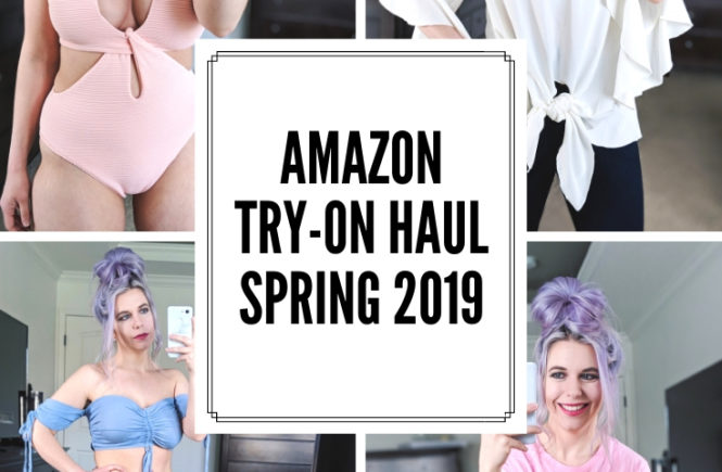 Amazon Try On Haul April 2019: Spring 2019 Amazon try-on haul by petite fashion blogger Tricia Nibarger of COVET by tricia. Amazon try-on session featuring some of the top Amazon finds for 2019. #petitefashion #petitestyle #amazonfinds #tryonhaul