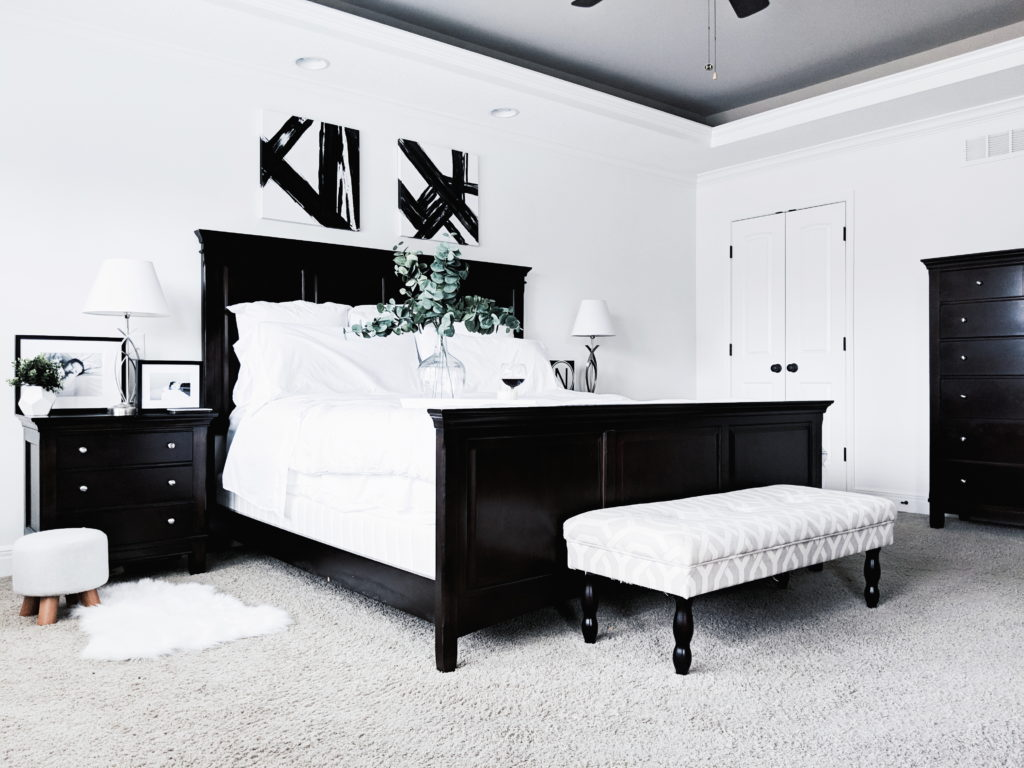 Black And White Master Bedroom Ideas • COVET By Tricia