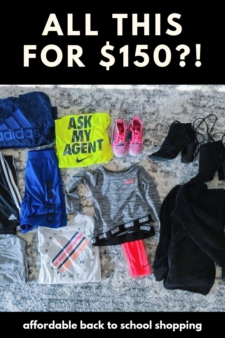 Affordable Back to School Clothes - Name Brands for Less: ad- Shopping for affordable back to school clothes 2019? Check out this amazing Gordmans haul for just $150! Tons of name brands plus they're giving back to No Kid Hungry with your purchases this back to school season! #GotItAtGordmans #FuelKidsFutures