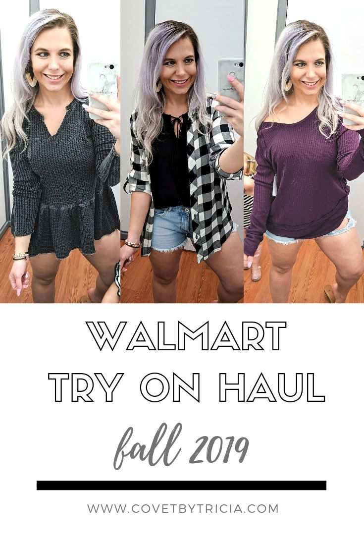 Walmart Try On Haul Fall 2019 - Fall 2019 Walmart finds with fashion blogger Tricia Nibarger of COVET by tricia. Lots of cute finds in this Walmart try on, including designer dupes, leopard print galore, and lots more. #walmart #walmartfashion #tryon #haul