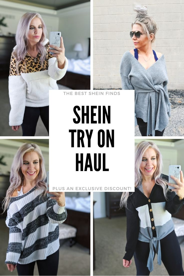 Shein Try On Haul 2019 - Is Shein legit? Shein try on haul featuring the cutest Shein finds for fall and winter 2019, styled by fashion blogger Tricia Nibarger of COVET by tricia. #shein #tryon #haul