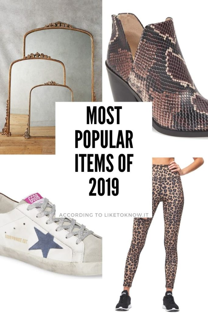 The most popular items of 2019, according to Like To Know It! Perfect for holiday gifts, Christmas gift ideas, gifts for her, gifts for hard to buy for people, and more! Don't forget to follow covetbytricia in the LIKEtoKNOW.it app for more! #liketkit #liketoknowit #christmasgifts
