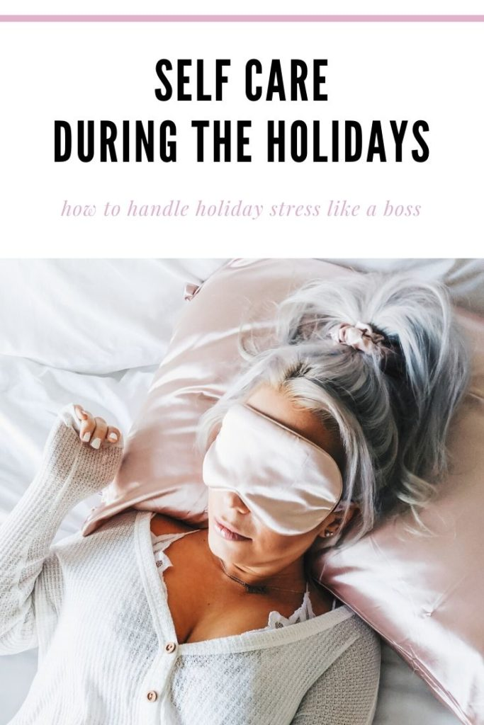Self Care During the Holidays - Are you on your list this holiday season? Blogger Tricia Nibarger shares how to slow down and take care of yourself during the holiday hustle, with the help of Paper Source. Self-care during the holiday season is so important! ad #PaperSource #CozyGatherGive