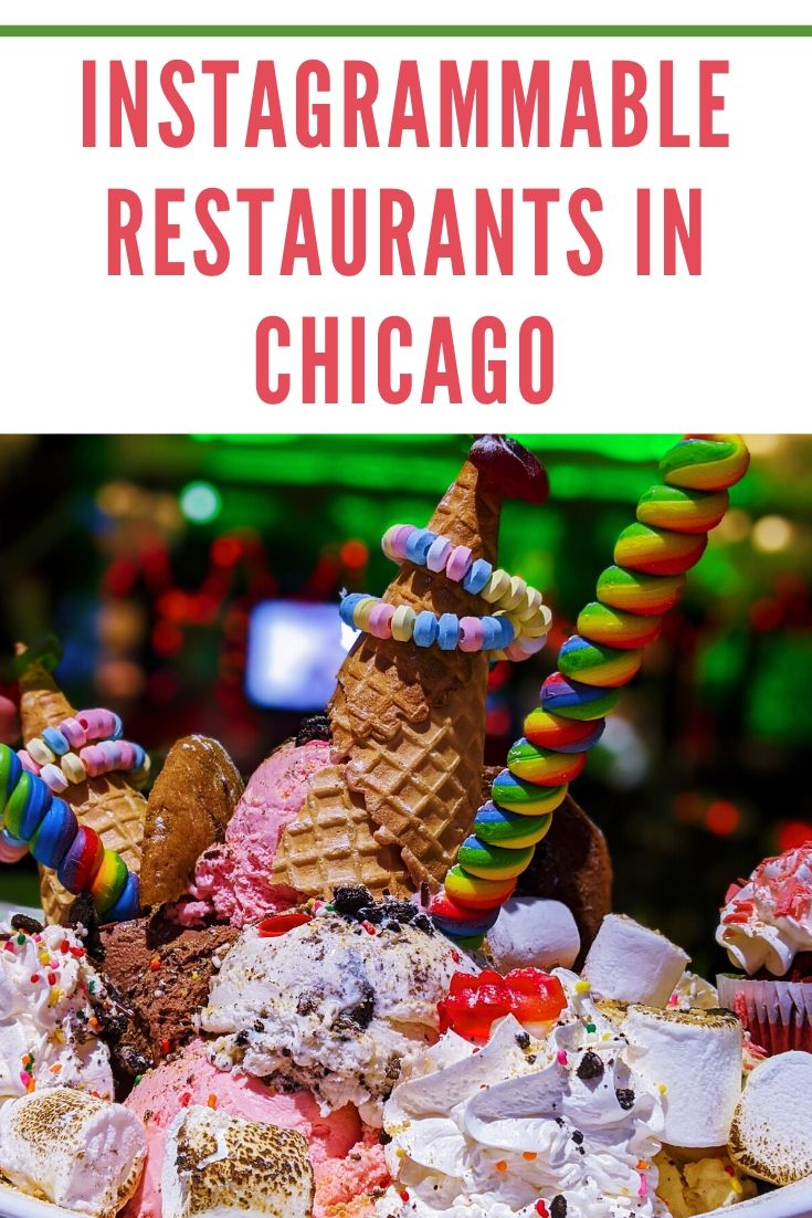 Sugar Factory Chicago - Instagrammable Restaurants in Chicago - If you're looking for the most Instagram worthy places in Chicago, you have to check out Sugar Factory! Their King Kong Sundae is the dessert of a lifetime. #sugarfactory #chicago #choosechicago