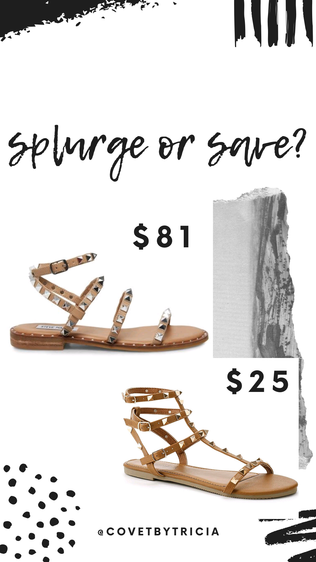 Best Studded Sandals for 2020 - We scoured the Internet for the best studded sandals in 2020! From the popular Steve Madden Travel Sandal to $10 dupe sandals, we have the perfect studded sandals for your style and budget. We're sharing the best clear studded sandals and the best nude studded sandals in this in-depth post! #sandals #summer2020 #shoes