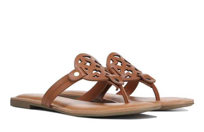 Best Tory Burch Miller Dupes - We scoured the Internet for the best Tory Burch Miller dupes and put them all in this post! Get the look for less with these Tory Burch dupes, PLUS tips on the best ways to score discounted authentic Tory Burch Miller sandals, too! #toryburch #designerdupe #designerdupes