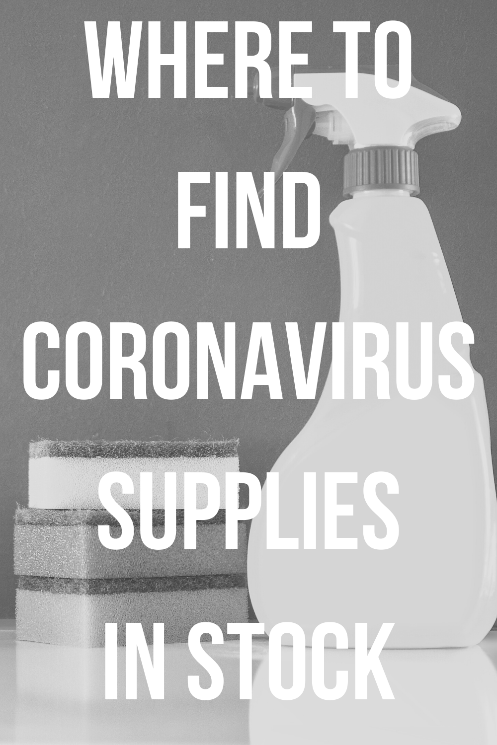 Where to Find Coronavirus Supplies in Stock -- If you're looking for baby wipes, hand sanitizer, or even toilet paper in stock, read this! I've scoured the Internet to find the retailers with IN STOCK coronavirus supplies. Share with your friends and family! #coronavirus #covid19 #cdc