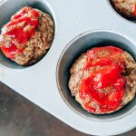 Easy Meatloaf Muffins Recipe - No meatloaf pan? No problem! Make these easy meatloaf muffins for a quick, kid-friendly dinner with individual servings. Perfect if you're looking for ground beef recipes for a crowd! #groundbeef #maindishes #kidfriendly