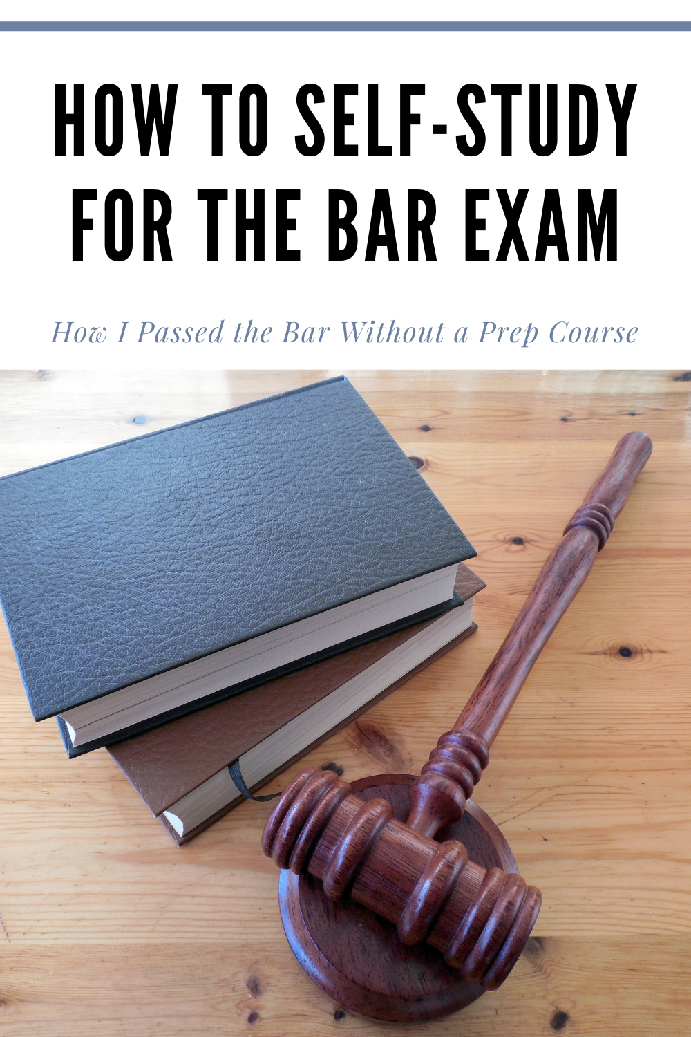 How to Self-Study for the Bar Exam